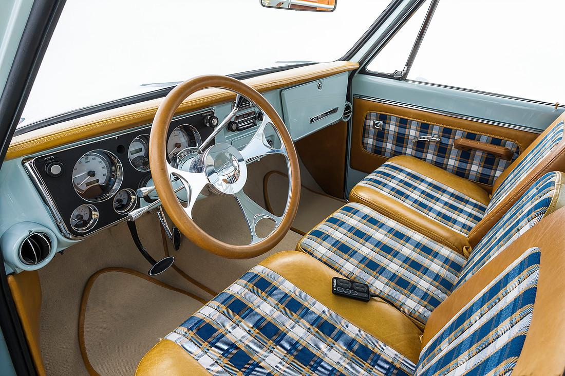vintage car door handle. 67-72 Chevrolet Truck Custom Interior With Door Handles Vintage Car Handle